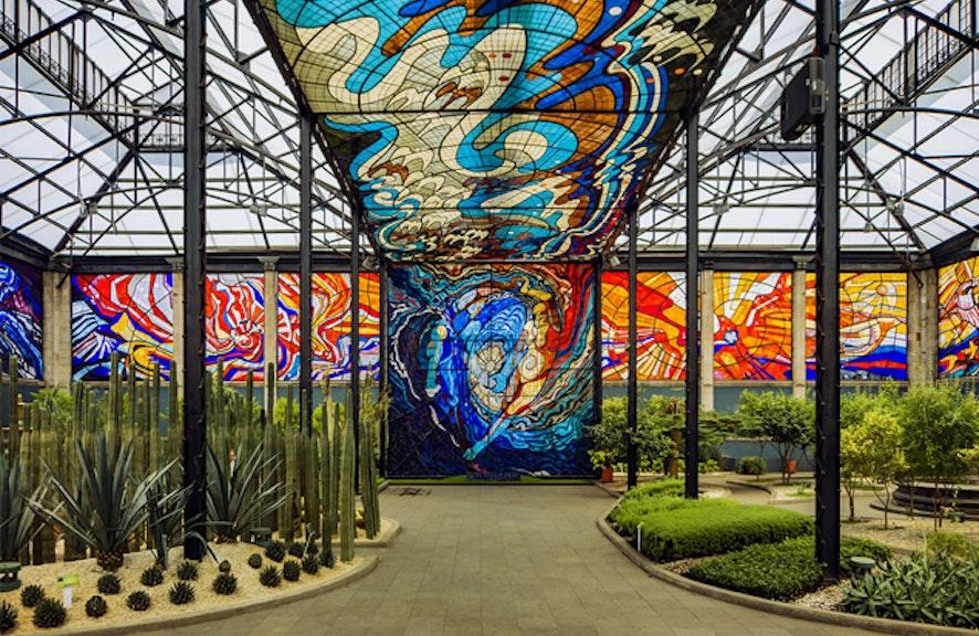 Jardín Botánico y Cosmovitral