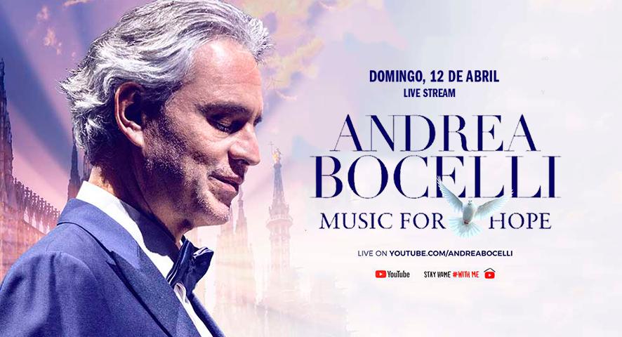 Andrea Bocelli en concierto